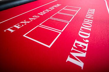 Podstawowy stół do pokera